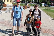 Rodina Polcrova z Prostějova vyrazila do terénu s Velehradským pasem.