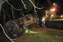 Dopravní nehoda u Šumic.