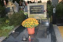 Hrob Bedřicha Beneše Buchlovana.