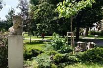 Jezuitská zahrada v Uherském Hradišti.