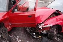 Dopravní nehoda. Ilustrační foto.