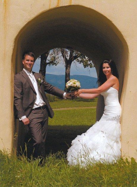 Soutěžní svatební pár číslo 221 - Simona a Michal Šemberovi
