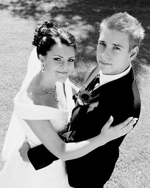 Soutěžní svatební pár číslo 182 - Monika a Jakub Nábělkovi, Olomouc-Přáslavice.