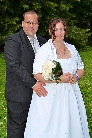 Soutěžní svatební pár 34 - Jitka a Pavel Velískovi.