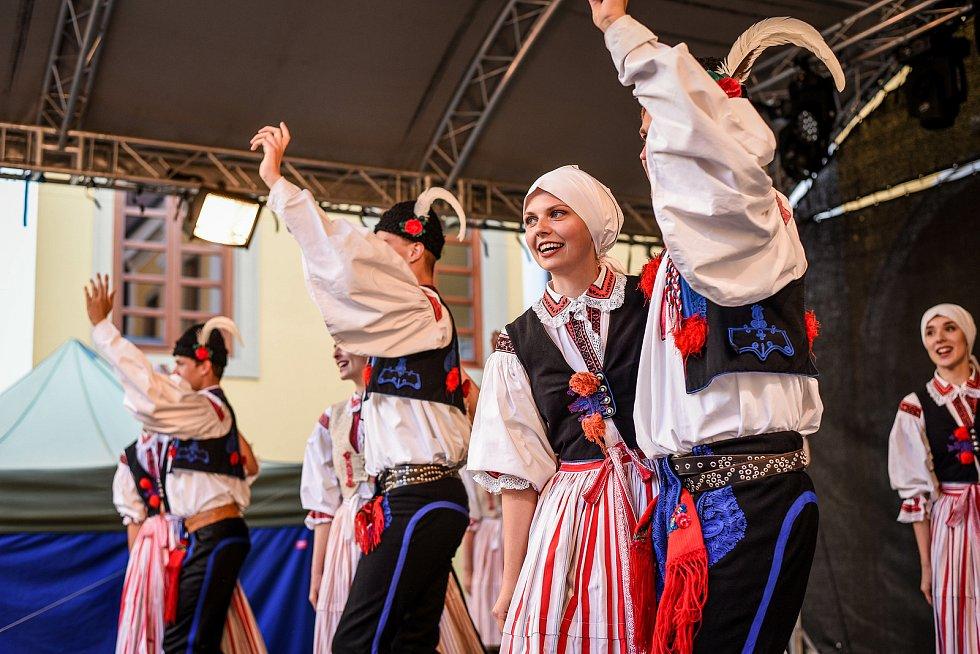 Slovácké léto 2021. Folklorní večer