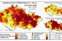 Na monitorování sucha se zaměřuje také server intersucho.cz. Právě z jeho modelů vyplývá, že nejhorším obdobím v uplynulém roce pro uherskohradišťský okres byl 28. týden, tedy doba od devátého do patnáctého července.