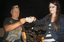 Nové CD Pocity pokřtila skupina Argema v sobotu 31. srpna v Topolné.