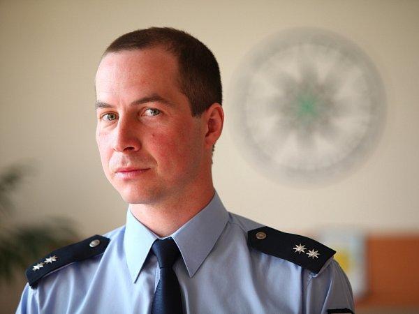 Tiskový mluvčí Policie ČR Uherské Hradiště Aleš Mergental. Ilustrační foto.