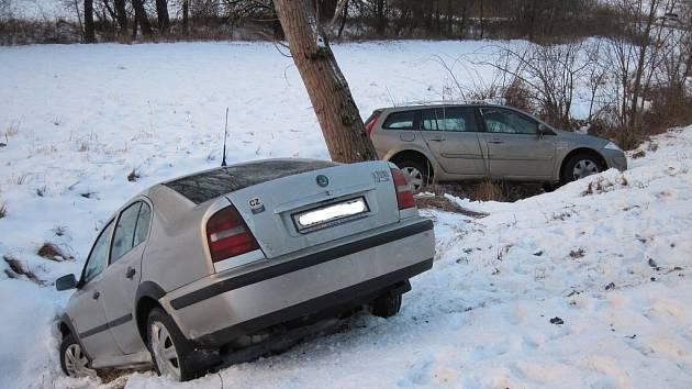 Dopravní nehoda u Stříbrnic