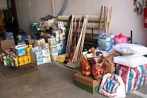 Humanitární pomoc Libereckému kraji poskytli stovky lidí z Vlčnova i okolních obcí.