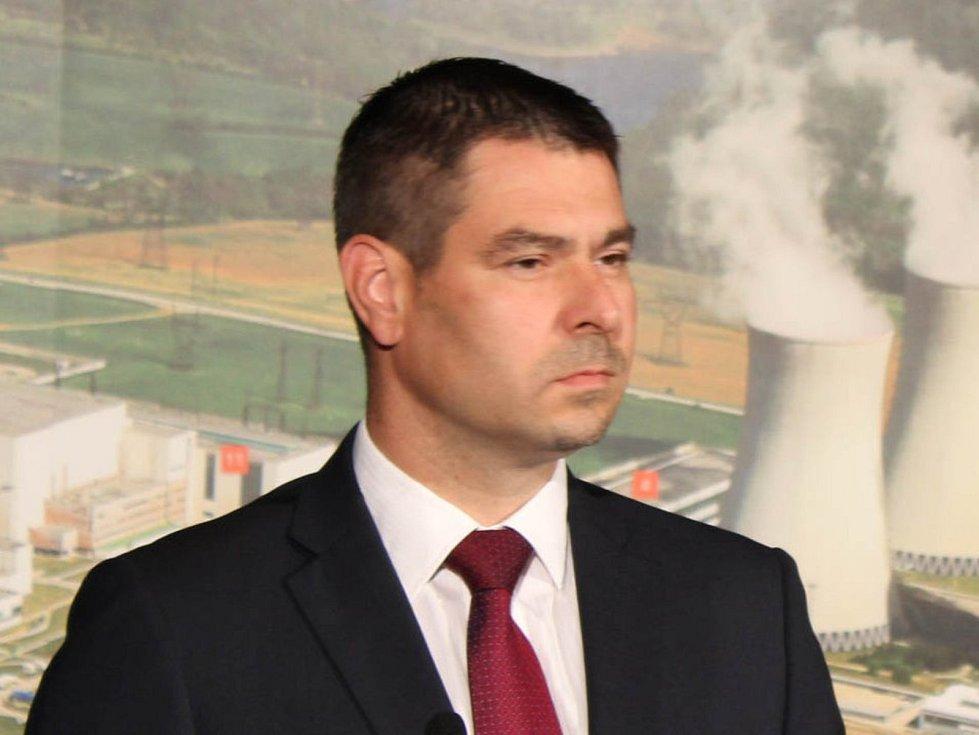 Ministr průmyslu a obchodu Jiří Havlíček