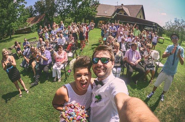 Soutěžní svatební pár číslo 102 - Dan a Radana Šimkovi, Napajedla.