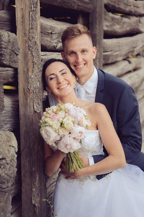 Soutěžní svatební pár číslo 105 - Kamila a Zdeněk Tinkovi, Strání