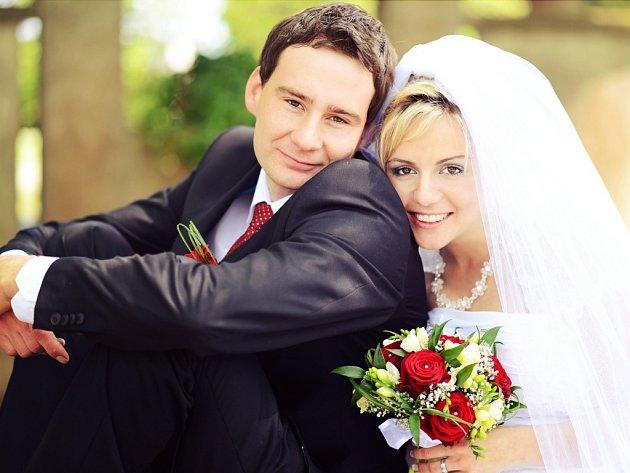 Soutěžní svatební pár číslo 216 - Aneta a Tomáš Hrubí, Konice.