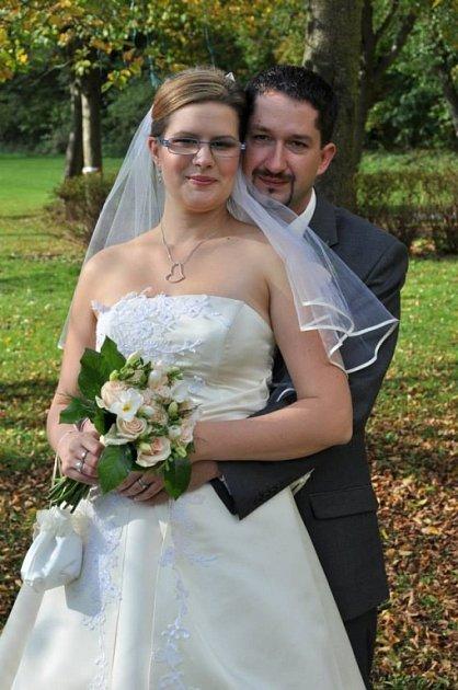 Soutěžní svatební pár číslo 266 - Markéta a Aleš Křupalovi, Lipová – lázně.