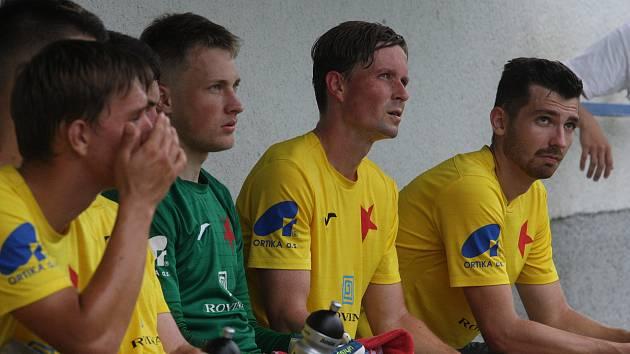 Fotbalisté Kroměříže porazili divizní Valašské Meziříčí 2:0.