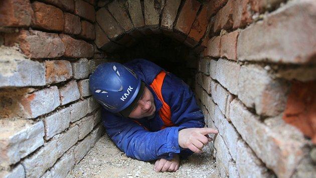 Oprava a rekonstrukce kanalizace na zámku v Buchlovicích