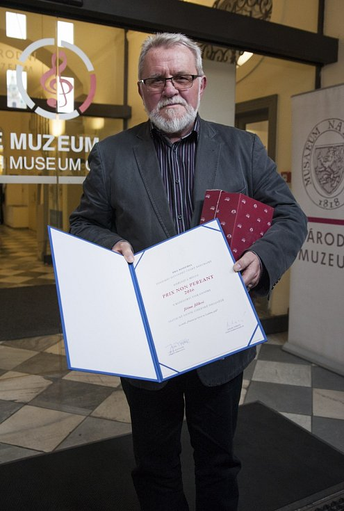 Udílení ceny Prix Non Pereant Jiřímu Jilíkovi