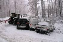 Dopravní nehoda na Bunči. Ilustrační foto.