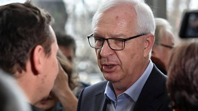 Prezidentský kandidát Jiří Drahoš.