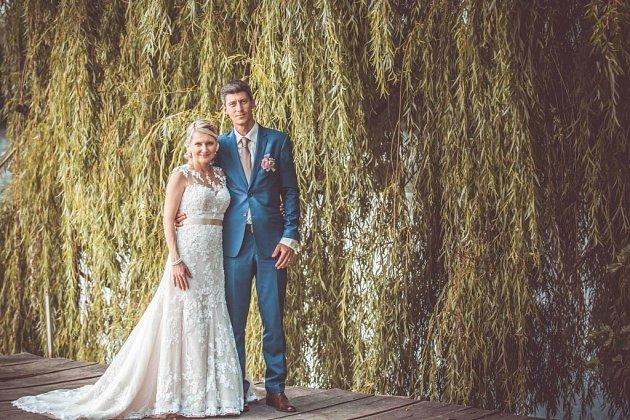 Soutěžní svatební pár číslo 10 - Kateřina a Radek Tymlovi, Staré Město