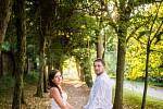 Soutěžní svatební pár číslo 156 - Kateřina a Ondřej Hromadovi, Lužná u Vsetína