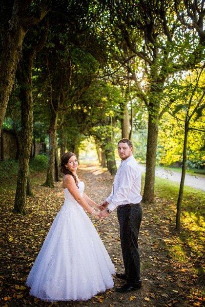 Soutěžní svatební pár číslo 156 - Kateřina a Ondřej Hromadovi, Lužná uVsetína