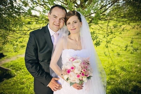 Soutěžní svatební pár číslo 86 - Alena a Pavel Vavříkovi, Kroměříž.