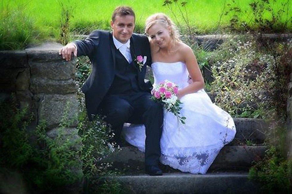 2. místo v soutěži O nejkrásnější svatební pár roku 2014 získali manželé Zuzana a Radim Hubáčkovi ze Zlámance.