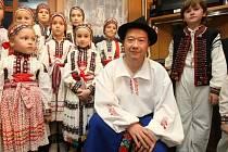 Senátor a kandidát na prezidenta Tomio Okamura na chatě Valmont ve Vyškovci.