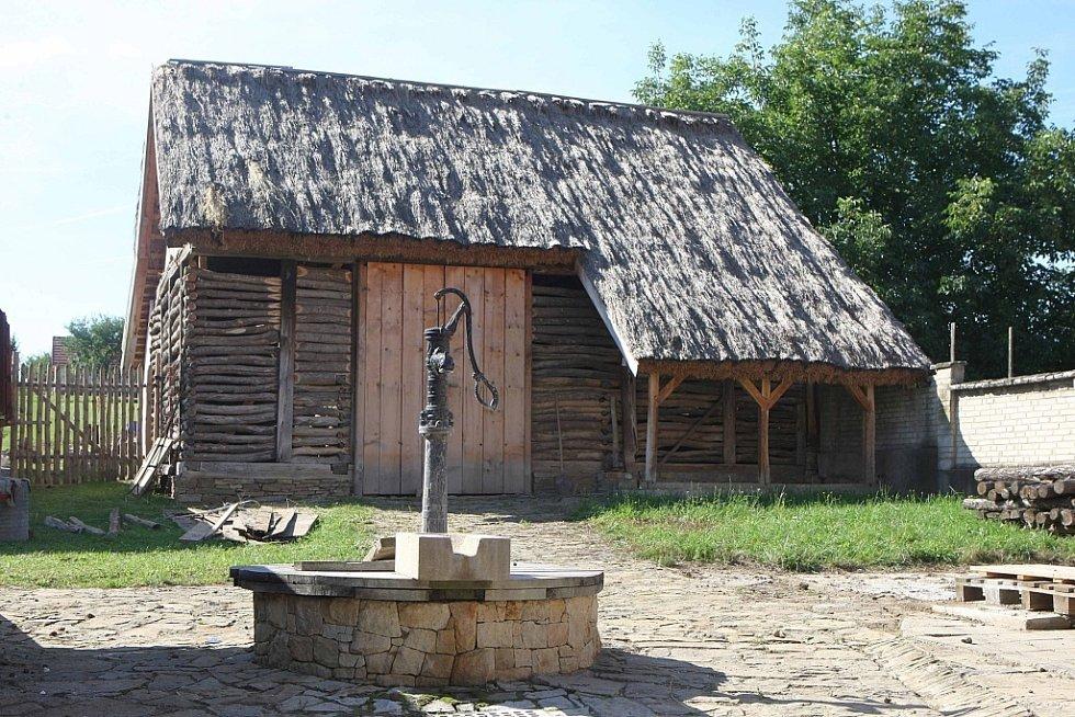 Trchalíkova usedlost v Šumicích.