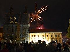 Den města ukončil koncert F-durr Jazzbandu a Slováckého komorního orchestru.