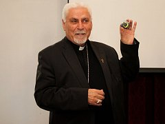 Arcibiskup syrské katolické církve debatoval s velehradskými studenty.