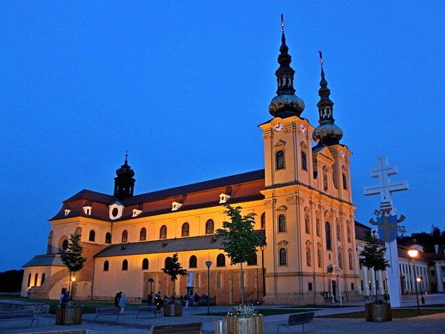 Velehradská bazilika bude v rámci akce Noc kostelů v pátek otevřena až do 24 hodin.