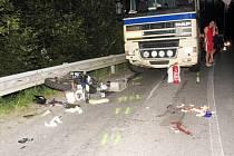 Trafická nehoda.