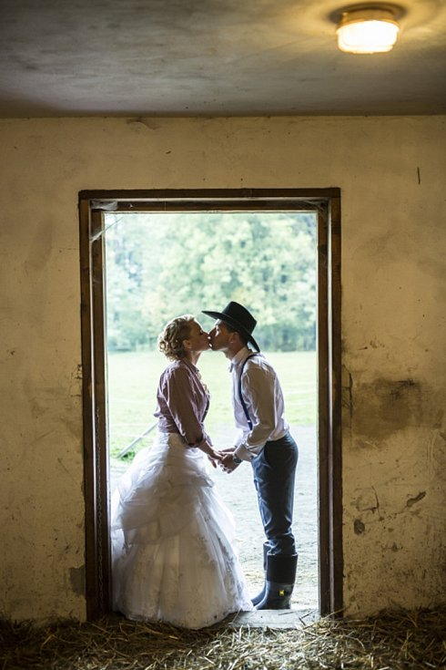 Soutěžní svatební pár číslo 226 - Kristýna a Lukáš Melichaříkovi, Rožnov pod Radhoštěm