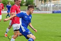 Devatenáctiletý útočník Jiří Švrček v létě zamířil do Uherského Brodu, kterému chce pomoct udržet se ve třetí lize.