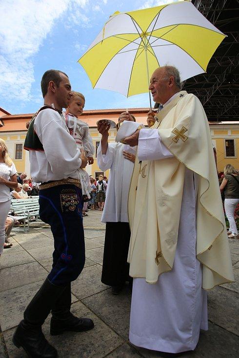 NÁRODNÍ POUŤ VELEHRAD 2019  Slavnostní poutní MšeJan Graubner