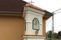 Město Uherské Hradiště nechalo opravit boží muka v Rybárnách.