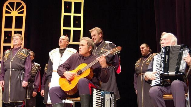 Po návratu ze Švýcarska, velkého koncertu ve Vídni a také z Berlína, se na svém turné zastavil vyhlášený pěvecký sbor Bolschoi Don Kosaken také v Uherském Brodě.