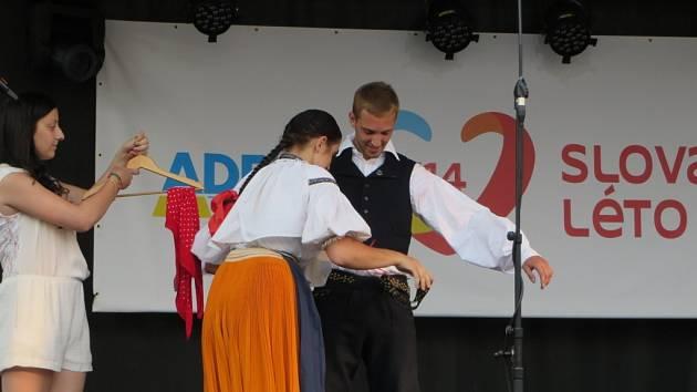 Dva dny Slováckého léta patřily folkloru.