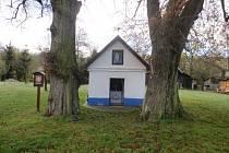U kapličky Pany Marie Bolestné ve Strání museli pokácet památkově chráněnou lípu. Zjistilo se totiž, že byla napadená dřevomorem kořenovým. Zatímco lípa v levo již leží na zemi sousední strom napravo je stále zdravý.