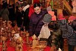 o rozloučení se zimou byla ve skanzenu vernisáž výtvarných prací klientů velehradského Vincentina.