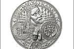 Ve zlatě i stříbře. Celá kolekce dostala název podle motivu, který nesla oceněná zlatá mince. Totožný obraz je i na této stříbrné ražbě.