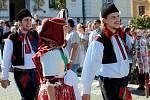 Slovácké slavnosti vína a otevřených památek 2021 v Uherském Hradišti