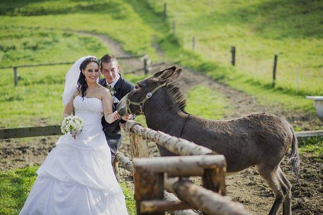 Soutěžní svatební pár číslo 251 - Eva a Radim Manovi, Vlachovice.