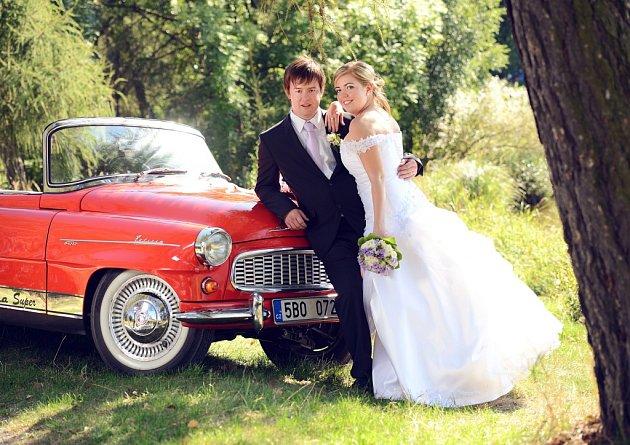 Soutěžní svatební pár číslo 65 - Veronika a Miroslav Hrstkovi, Rozstání.