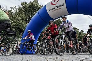 Na kole vinohrady startovalo 11. července tradičně na Masarykově náměstí v Uherském Hradišti.
