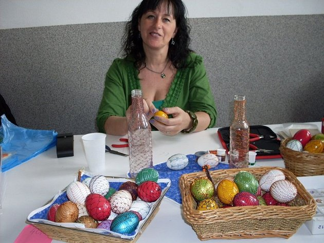 Velikonoční výstava v Dolním Němčí.