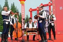 Folklorní soubor Oldšava z Uherského Brodu vrátil z úspěšného zájezdu do Číny.